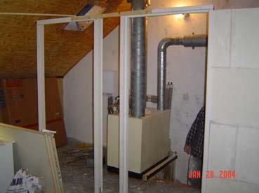 Systeem wanden en plafonds for Slaapkamer op de zolderfotos